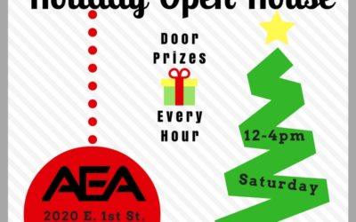 AEA Holiday Open House with Door Prizes on 12-3-16
