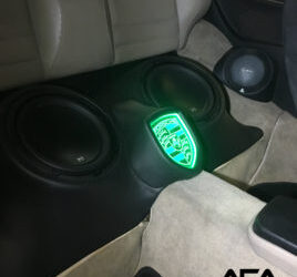 Custom Subwoofer Enclosure for a 1987 Porsche 944