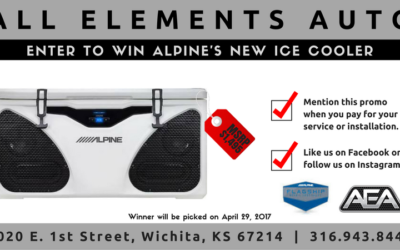 Alpine ICE Cooler Giveaway!