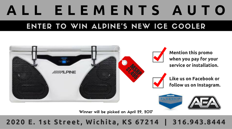 Alpine ICE Cooler