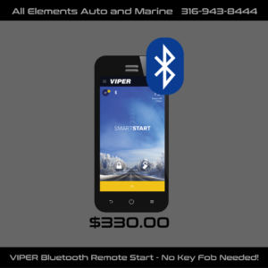 VIPER Bluetooth Remote Start – No Key Fob Needed – Only $330 Installed!