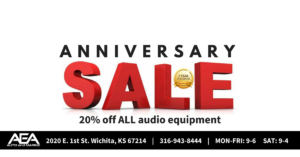 April 1st Was Our Second Anniversary So It's Time For Our  Annual  Boat & Car Audio Sale!