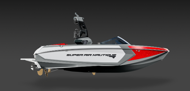 2019 Nautique Red G23 Side View