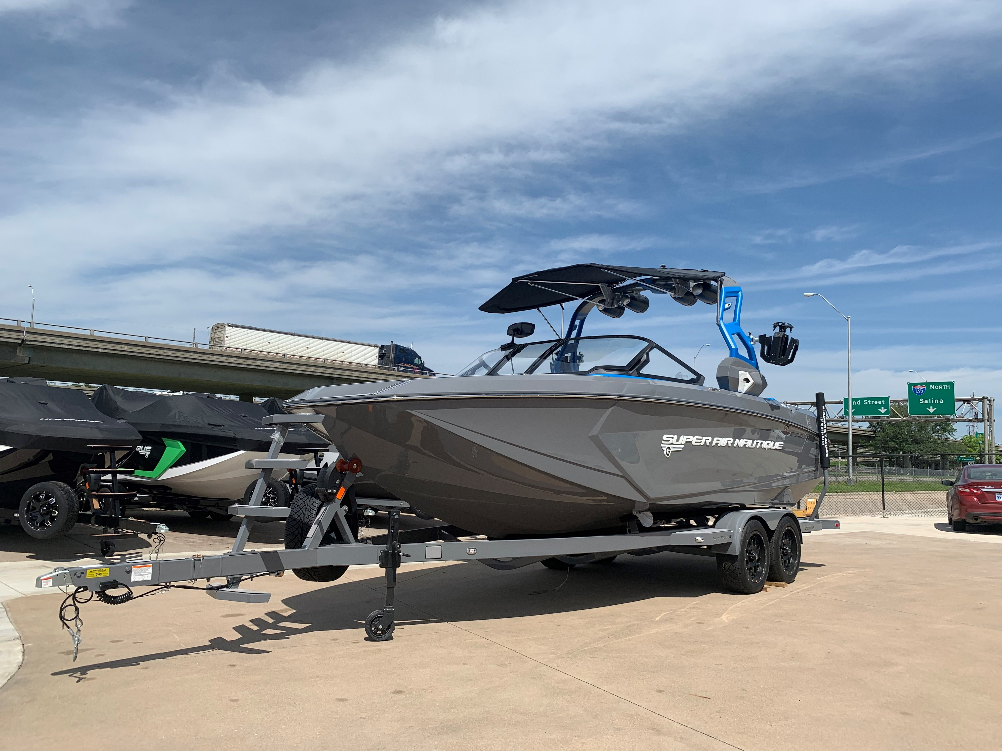 2019 Nautique Gray G23 Front View