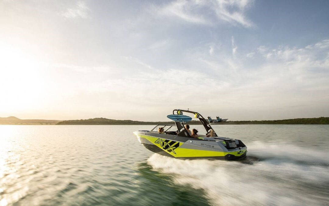 The All New 2021 ATX 20 Type-S Surf Boat